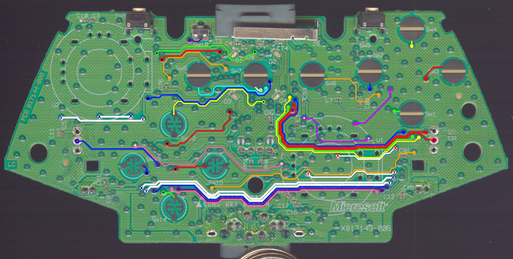 WirelessCG2v2Top xbox 360 wireless controller circuit diagram circuit and xbox 360 controller wiring diagram at reclaimingppi.co