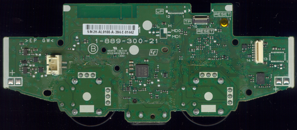 1 889 300 21Bottom dualshock 4 controller pcb scans ps2 controller wiring diagram at edmiracle.co