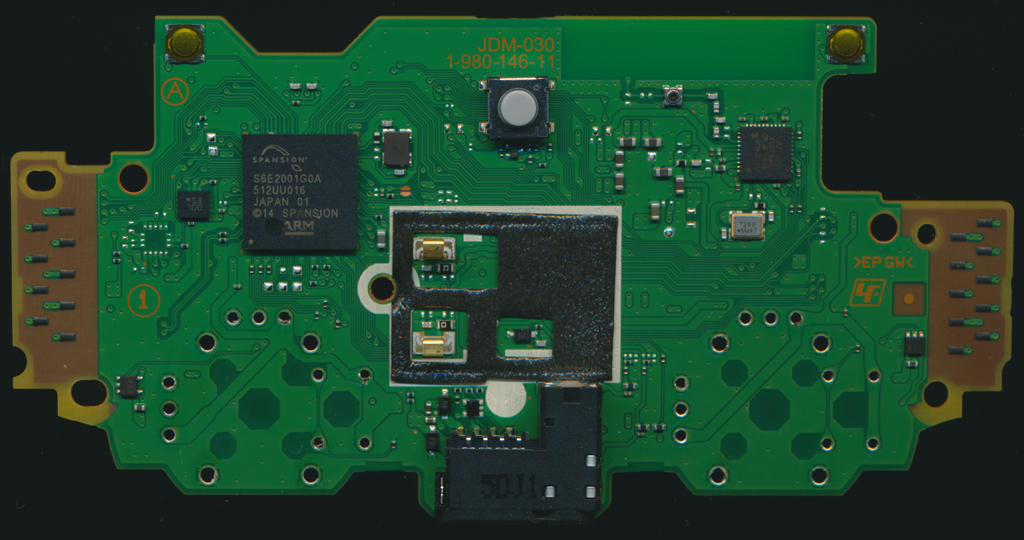 JDM 030 1 980 146 11 Top dualshock 4 controller pcb scans ps2 controller wiring diagram at edmiracle.co