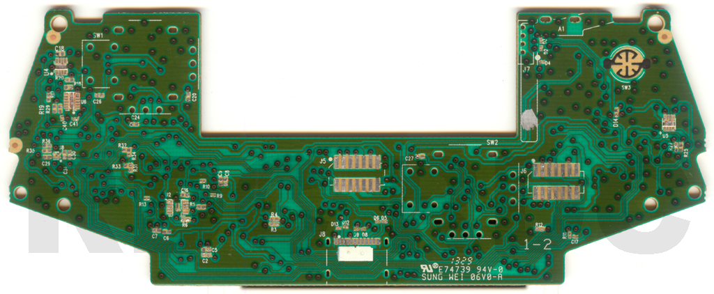 1537BBTCLEAN xb1 controller pcb scans, traces and info 1537 xbox 360 controller wiring diagram at reclaimingppi.co