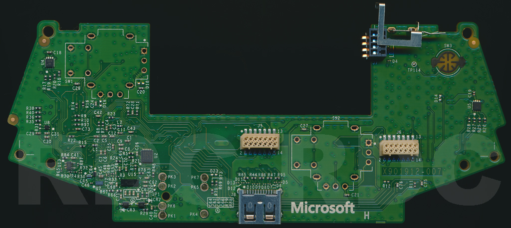 XB1 Controller PCB Scans, Traces and Info - 1697