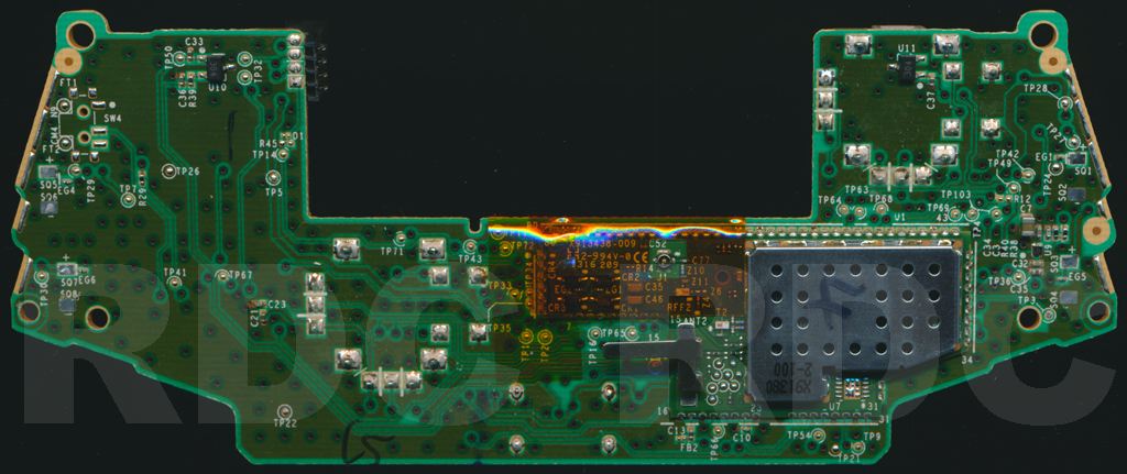 [WQZT_9871]  XB1 Controller PCB Scans, Traces and Info - 1708