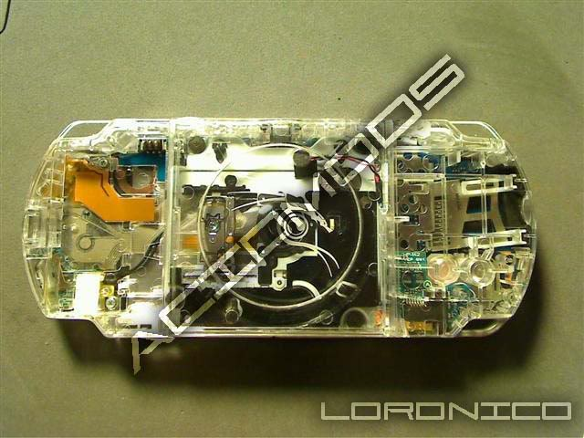 how to clean a psp from the inside